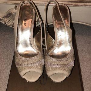 f03ccdce97fd Women Bebe Slingback Heels on Poshmark
